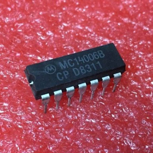 3 PCS MC14006BCP MC14006B 4006BCP
