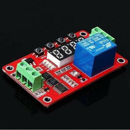 12V LED Digital Programmable Timer Relay Module + IR Remote Control System