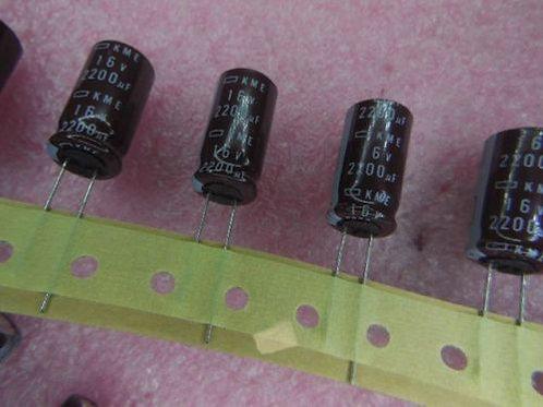5 PCS United Chemi-Con CAP 16V 2200UF 2200mf Capacitor (Replacing for 10V 6.3V )