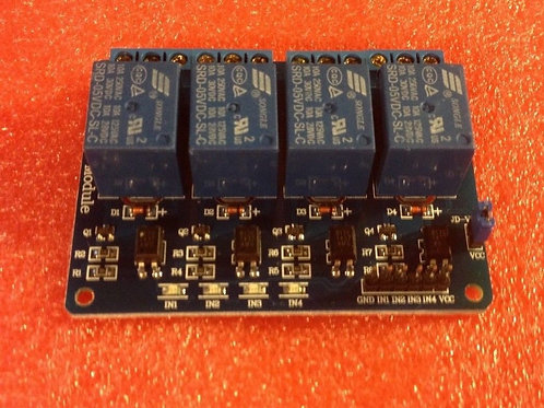 5V 4-Channel Relay Module for Arduino PIC ARM DSP AVR Electronic M