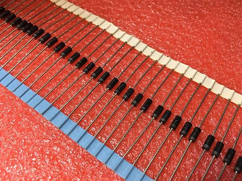 50 PCs 1N5817R 1N5817 Diode 40V 1A (Replacing for 1N5819 BYV10-40 BYV10-40 )
