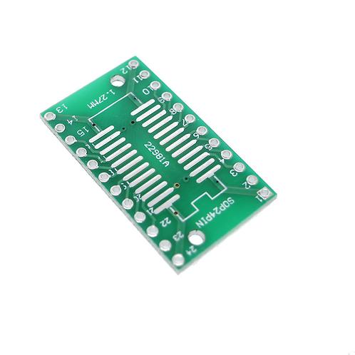 SOP24 SSOP24 TSSOP24 to DIP24 PCB Pinboard SMD To DIP