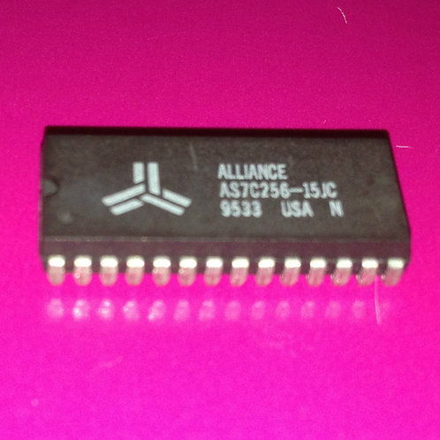 AS7C256-15JC 7C256-15JC - 5V 32K x 8 CM0S SRAM 15ns access time - SOJ28