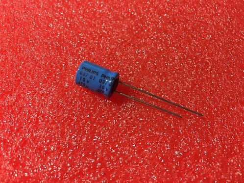 5 PCS PHILIPS ALUMINUM CAPACITORS 10V 470UF 470MF (REPLACING FOR 6.3V )
