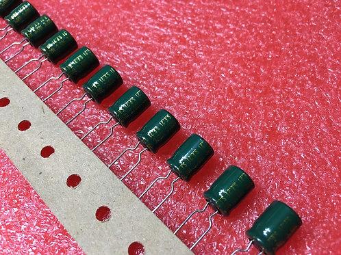 10 PCS CAPACITOR ALUM 330UF 330MF 10V 105°C RADIAL (REPLACING FOR 6.3V 4V )