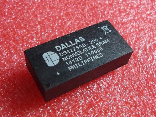 DALLAS DS1225AB-200+ DS1225AB-200 NVRAM 64k Nonvolatile SRAM DC# 1412D 5.0 avera