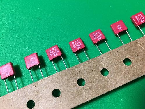 10 PCs 0.01uF 47nF 473 63V 10% Film Capacitor ORIGINAL OEM