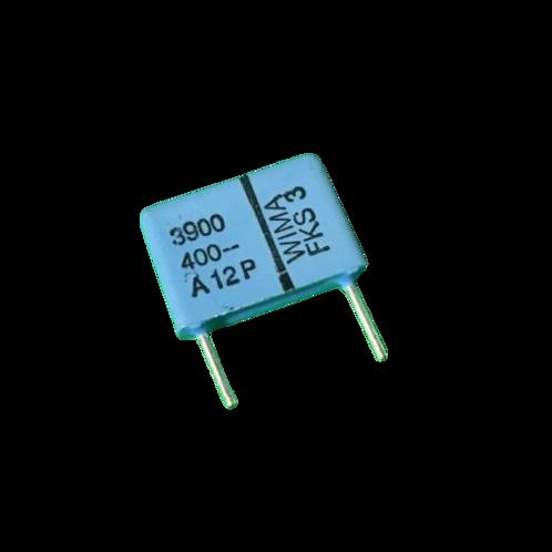 10 PCS WIMA Film Capacitor 400V 3900pF 3.9NF 10% 400V ORIGINAL OEM