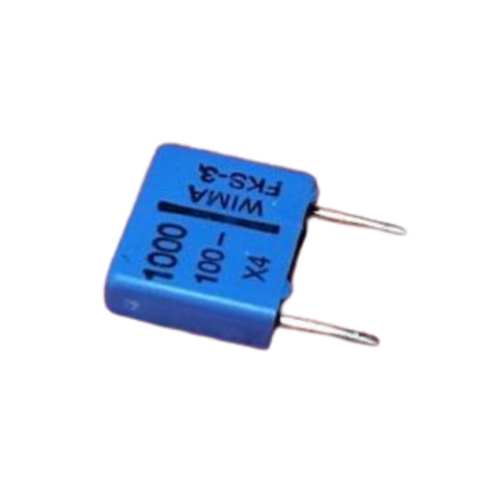 10 PCs Film Capacitor 0.001uF 1nF 102 100V 20% Cap (REPLACING FOR 63V )