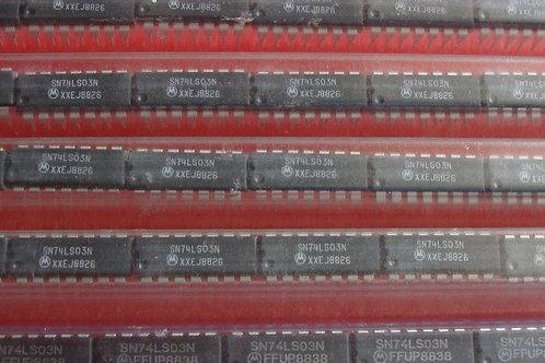 5 PCs Motorola SN74LS03N 74LS03N - ( CROSS OF HD74LS03P 74LS03P 74LS03PC )
