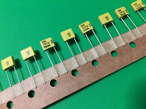 10 PCs 330PF 0.33nF 330 100V DC 63V AC 5% Film Capacitor ORIGINAL OEM