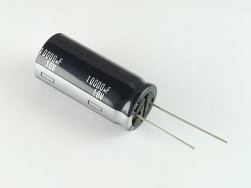 1PCs Panasonic CAPACITOR AL CAP 10000UF 10V 10000MF 105°C (replacing for 6.3V )