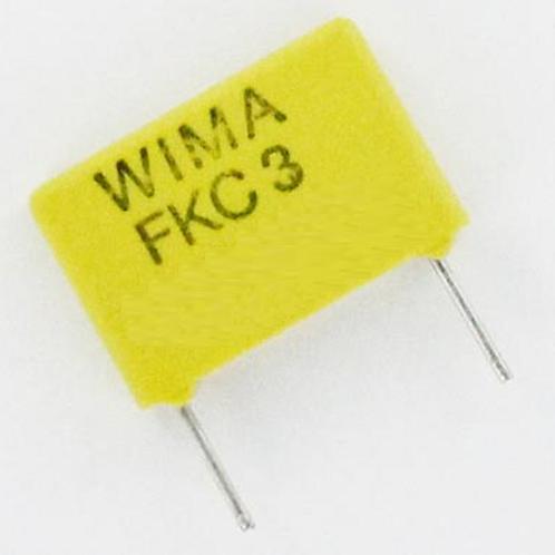 10 PCS WIMA Film Capacitor 150pF 0.15NF 5% 100V ORIGINAL OEM
