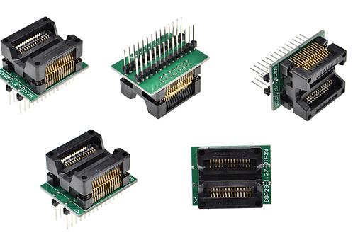 1 PCs SOIC28 SOIC 28 SOP28 TO DIP28 programmer adapter socket Body Width 7.5MM