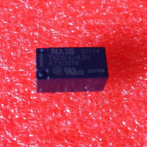 NAIS TXD2-L-4.5V ATXD216 Low Signal Relays - PCB 2 Form C 2A 30VDC 4.5VDC