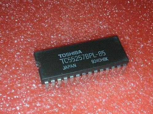 TC55257BPL-85 - 32,768 WORD-8 BIT STATIC RAM - DIP28