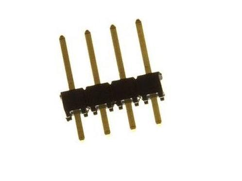 10 PCS FCI 68000-104HLF BOARD-BOARD CONNECTOR HEADER, 4WAY, 1ROW