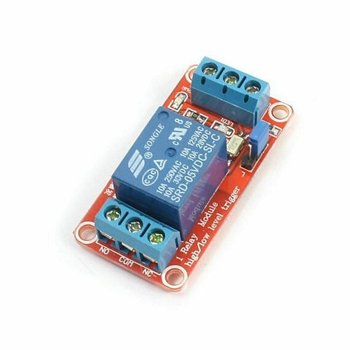 1-Channel 5V Relay Module With Optocoupler H/L Level for Arduino