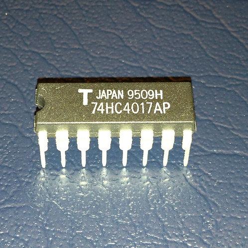 2 PCs 74HC4017AP