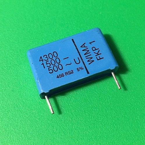 1 PCS WIMA Film Capacitor 4300pF 4.3NF 0.0043UF 5% 1500V DC 500V AC ORIGINAL OEM