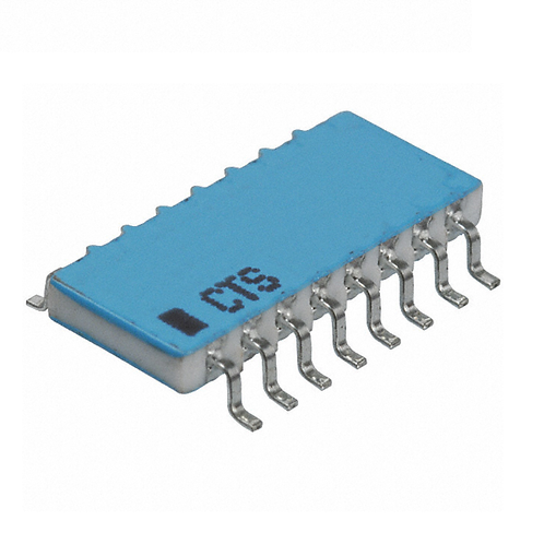 1 PCs CTS 767-161-103G Resistor Network ARRAY 10K Ohm 50V 2±%, 100ppm
