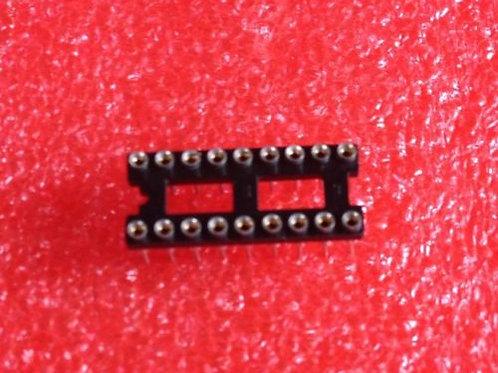 10 PCS 18 PIN IC SOCKET ROUND HOLE HIGH QUALITY