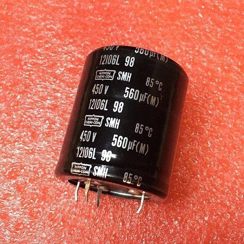 CAPACITOR 560UF 560MF 450V CAP (replacing 420V 400V 350V 250V 220V 200V ) QTY: 1