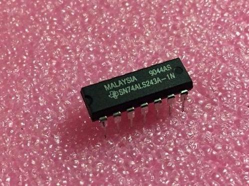 1 PCs Texas SN74ALS243A-1N SN74ALS243A - Original OEM Parts