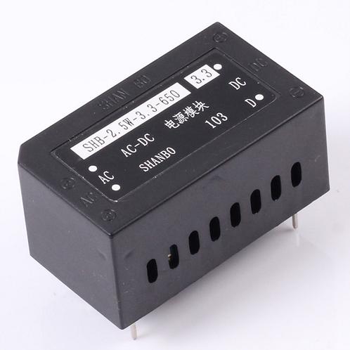 110V 220V AC to 3.3V 650mA AC-DC Power Supply Buck Converter Step Down Module