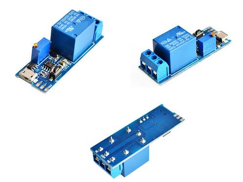 5V-30V Delay Relay Timer Module Trigger Delay Switch Micro USB Power Adjustable