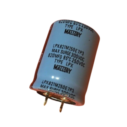 1 PCS CAPACITOR ALUM 820UF 820MF 250V Snap In (REPLACING FOR 220V 200V 180V )