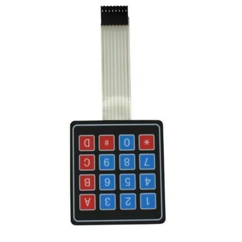 1 pcs 4 x 4 Matrix Array 16 Key Membrane Switch Keypad Keyboard