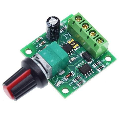 2 PCs Low Voltage DC 1.8V 3V 5V 6V 12V 2A Motor Speed Controller PWM