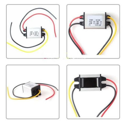 Car Charger Converter 12V To 4.2V 3A 12W DC To DC Buck Step Down Module