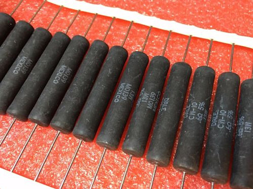 1 PCs CW-10 M0139 Wirewound Resistor 0.6 OHM 13W 5% .6 (REPLACING FOR 12W 11W )