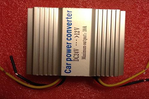 24V to 12V DC/DC 10A Car Vehicle Power Supply Converter Inverter Adapter