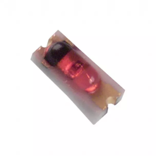 10 PCs LED RED 635NM 7.2mcd 2SMD 2.1V Transparent SMD SMT