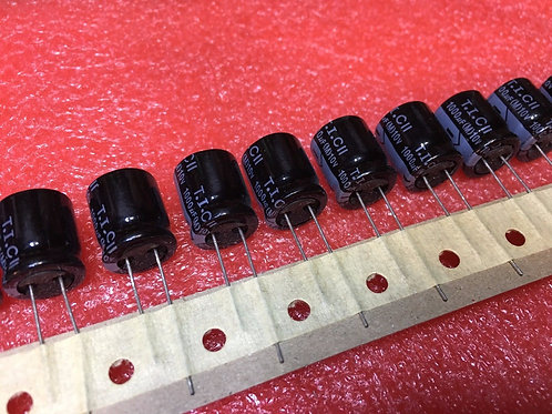 19 PCS TECATE CAPACITOR ALUM 1000UF 1000MF 10V RADIAL (REPLACING FOR 6.3V 2.5V )