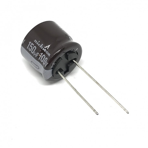 5 PCs Nichicon AL Cap Radial 100V 150uF 150MF (replacing for 63V 50V 40V 35V )