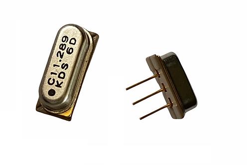 1 PCs KDS 3 PIN Crystal Oscillator 11.289 MHz 11.289MHz THT ORIGINAL