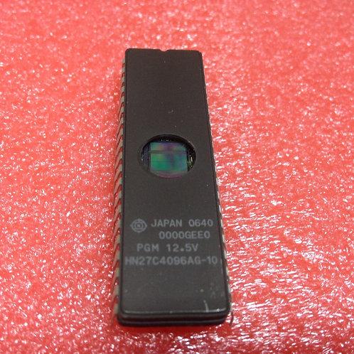 1PCs Hitachi HN27C4096AG-10 256KX16 UVPROM 100 ns CDIP40