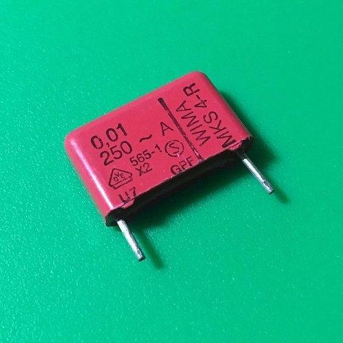 5 PCs WIMA 0.01uF 10nF 103 250V AC 10% Film Capacitor ORIGINAL OEM