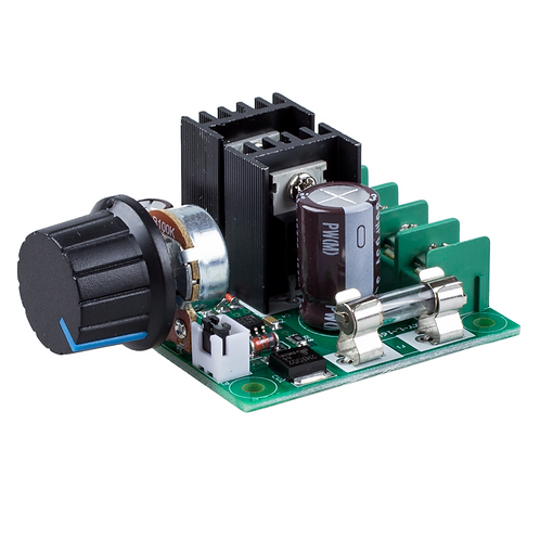 12V-40V 10A PWM DC Motor Speed Controller with Knob