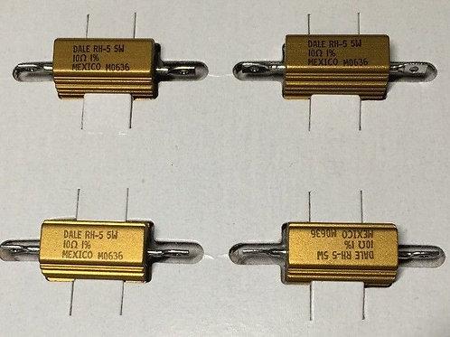Vishay RH00510R00FC02 RH-5 RESISTOR 10 OHM 5W 1% 10OHM (REPLACING FOR 2W 3W 4W )