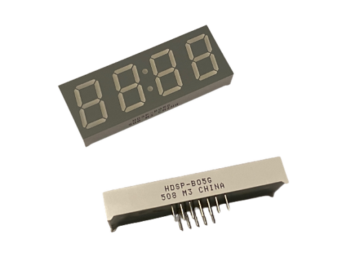 "1 PCs HDSP-B05G Seven 7 SEGMENT LED DISPLAY 4 Digits 0.56"" QUAD Green 10DIP"