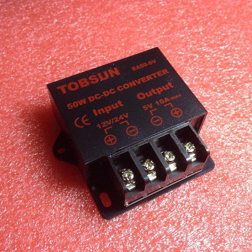 DC-DC 12V/24V to 5V 10A Step Down Regulator Module 50W Voltage Converter