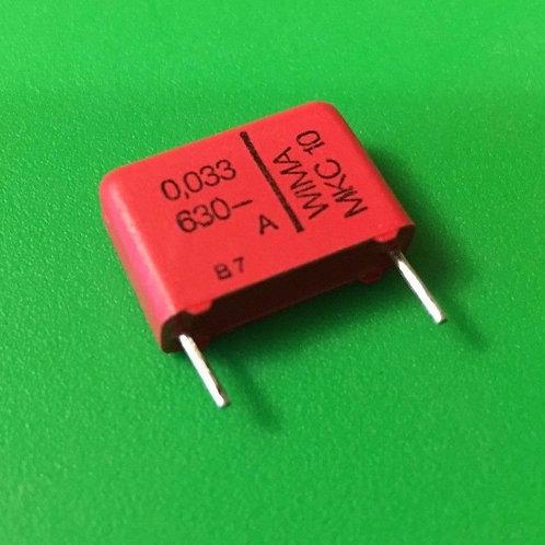 5 PCS WIMA Film Capacitor 630V 0.033UF 33000PF 33NF 5% ORIGINAL OEM CAP