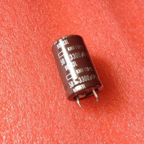 1 PCS SNAP-IN Capacitor 3300UF 3300MF 50V RADIAL (REPLACING FOR 40V 35V 25V )