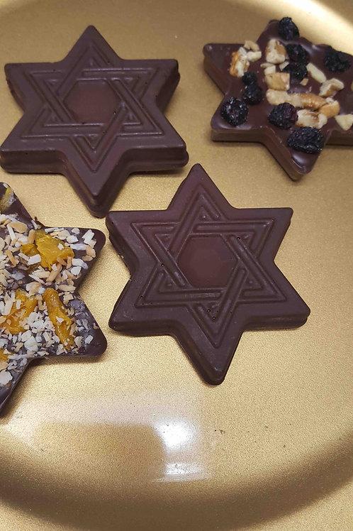 Chocolate Fruit & Nut Star of David  (Vegan & Gluten Free)