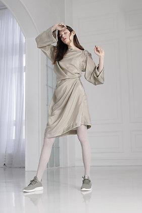 Extreme drape dress
